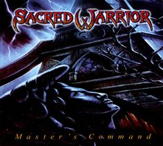 Sacred Warrior - Master's Command CD 2017 Roxx Records ** NEW ** STILL SEALED ** #ChristianRockChristianGospel