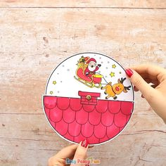 Make our Santa Spinner Christmas Craft for Kids, it's one of the easiest paper toys for kids to make. Make our Santa Spinner Christmas Craft for Kids, it's one of the easiest paper toys for kids to make. Toy Craft, Craft Stick Crafts, Crafts To Do, Easy Crafts, Paper Crafts, Craft Kids, Santa Crafts, Halloween Crafts, Diy Christmas Cards