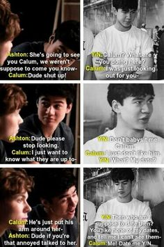 Imagine: Calum is your bestfriend and he wants you to find a boyfriend, but when you do find one he gets jealous. (c) @5SOS_Imagining