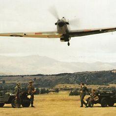 (Photo from Hawker Restorations Ltd)  Hawker Hurricane