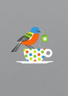 Painted Bunting art print $25