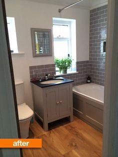 Naomi moved into her Edwardian UK home a year ago and has spent nearly the whole time planning renovations to her small bathroom. Her biggest goal? An easy-to-clean space with minimal areas for dust to gather. We hear you, Naomi.