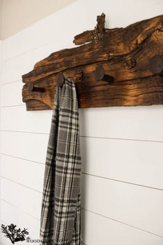 Railroad Spike Wall Hook Rack