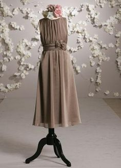 Gorgeous!   Google Image Result for http://www.weddingdressespricesale.com/images/Junior-Bridesmaid-Dresses/Jewel-Full-length-Chiffon-Sash-A-line-Junior-Bridesmaid-Dress-model-20126819.jpg