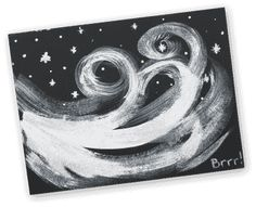 Michaels Antarctica Craft- Swirling Snow Painting | Download the instructions and supply list. http://www.michaels.com/Passport
