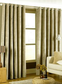 Taupe Peach Effect Curtains on shopstyle.co.uk
