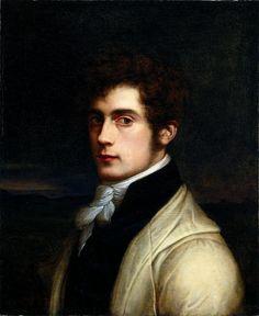 Carl Joseph Begas, Self-Portrait, 1819