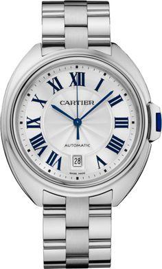 Montre Clé de Cartier 40 mm, or gris