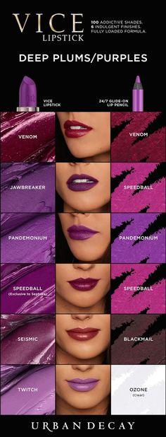 Vice Lipstick: Browns