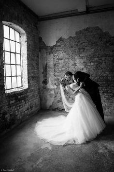<3 One Shoulder Wedding Dress, Lens, Wedding Dresses, Fashion, Bride Gowns, Wedding Gowns, Moda, La Mode, Weding Dresses