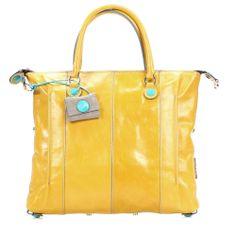 wardow.com - #Gabs, Gloria Handtasche Leder gelb 34 cm