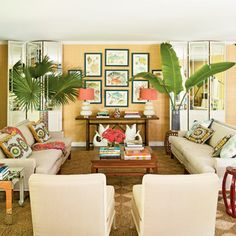 Seriously the second this Coastal Living came out, I was obsessed with this living room.