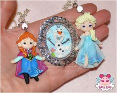 Frozen handmade jewels by dragonfly-world.deviantart.com on @deviantART