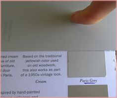 Annie Sloan's Chalk Paint colors matched to Behr paint (Home Depot) colors - (Updated for 2015) - EXAMPLE: ASCP 'French Linen' ='s Behr 'Gray Squirrel' N320-5m