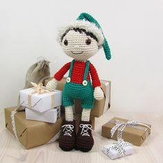 Ravelry: Christmas Elf - Boy pattern by Kristi Tullus €5.50 EUR