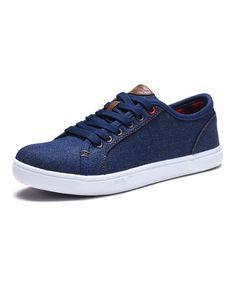 Love this Navy Sneaker on #zulily! #zulilyfinds