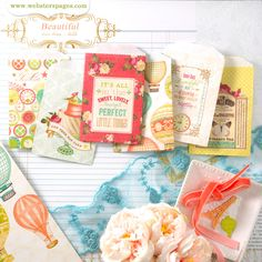 NEW! Postcards From Paris Mini Bags by Webster's Pages!  http://websterspages.typepad.com/webstershome/2013/07/my-entry.html