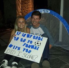 Asking to winter formal #formal #dance #asking #sadies #girlsaskguys #soccer #scoreadate