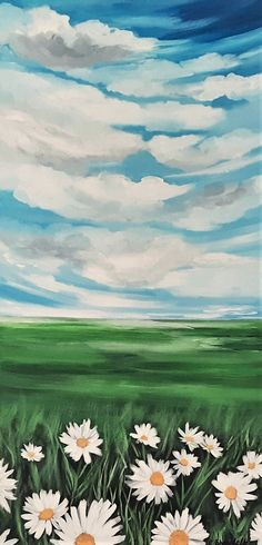 Landscape painting Flower field painting Affordable art Original painting Free shipping US Sky painting Sky Painting, Seascape Paintings, Your Paintings, House Painting, Landscape Paintings, Watercolor Paintings, Original Paintings, Watercolor Cards, Watercolor Flowers