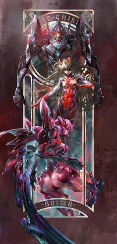 evangelion anima design is sick! The Second Children Neon Genesis Evangelion, Manga Anime, Manga Art, Anime Art, Comics Anime, Asuka Langley Soryu, Ex Machina, Anime Style, Anime Characters