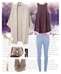 """""""All the simple things"""" by musicfriend1 on Polyvore featuring Dorothy Perkins, Violeta by Mango, RVCA, Aerosoles, rag & bone, Yves Saint Laurent, women's clothing, women's fashion, women and female"""