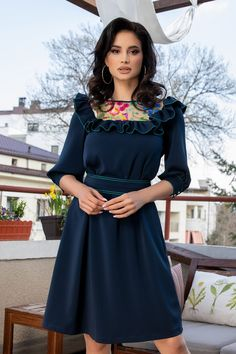 Rochii Romania is under construction Blouse Styles, Blouses For Women, Cold Shoulder Dress, Formal, Club, Dresses, Fashion, Vestidos, Straight Dress