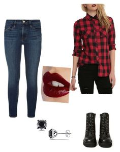 """""""Daring in red"""" by alyssa-yearick on Polyvore"""