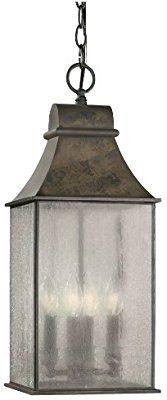 World Imports Lighting 61310-06 Revere 4-Light Hanging Lantern, Flemish - Pendant Porch Lights - Amazon.com