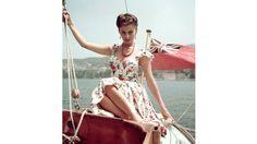 Boating Babes: Vintage Icons Set Sail
