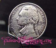 Hobo Nickel Coin with Artwork !!!
