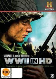 WWII Lost Films: WWII In HD (3DVD)