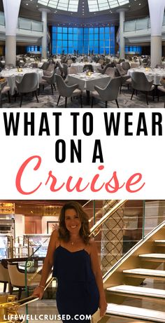 This guide for what to wear on a cruise vacation goes way beyond what you can find on cruise line websites. A real cruise passenger and cruise industry expert guide to planning cruise outfits, today and into next year! As dress codes are changing, this isn't a cruise from 5 or 10 years ago, so you need to have the most recent information about cruise line dress codes and how they are enforced by the maor cruise lines today. Packing list included. #cruisepacking #cruiseoutfits…