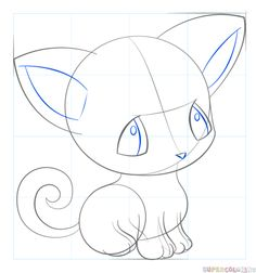 How To Draw An Anime Dog Step By Step Drawing Tutorials For Kids And Beginners Drawing Tutorial Drawing Tutorials For Kids Art Drawings For Kids