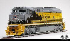 Lego Union Pacific EMD SD70 Ace Locomotive