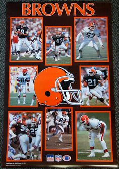 Afc Football, Nfl, Cleveland Browns Football, Cleveland Rocks, Bernie Kosar, Clay Matthews, Brown Pride, Browns Fans, Win Or Lose