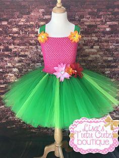 Hawaiian tutu dress. Lilo themed tutu dress. Luau by LisasTutus