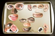 Child Care Basics Resource Blog: Face Magnets