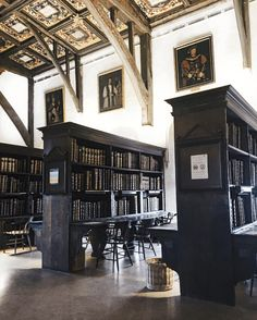 Inside Eight of Oxford University's Most Beautiful Libraries