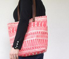 Market Weave Canvas Tote