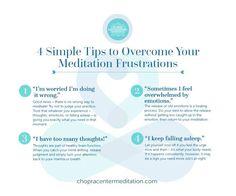 Overcome Meditation Frustrations