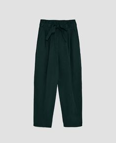 Image 8 of TROUSERS WITH BOW from Zara