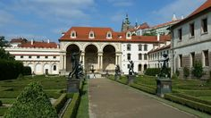 Prague, Czech Republic. Wallenstein Gardens