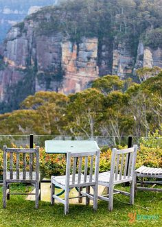 Relax in the Blue Mountains near Sydney - bucket list for Australia