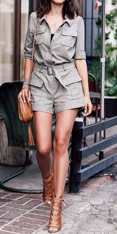 Outfits for Chic: The Best 40 Summer Fashion Trends To Try Right Now Safari Outfit Women, Safari Outfits, Safari Dress, Cozy Winter Outfits, Fall Outfits, Summer Outfits, Cute Casual Outfits, Summer Fashion Trends, Latest Fashion Trends