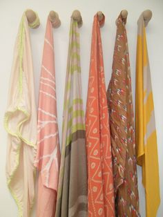 simple scarf hanging