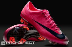 2e32aa70afc4 Nike - Mercurial Vapor - Superfly II - Firm Ground - Mens Boots - Voltage  Cherry Dark Obsidian Metallic Silver
