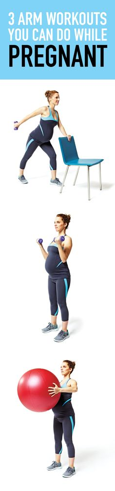 This specially designed pregnancy workout will target your arms! #pregnancy #pregnancyfitness #fitness