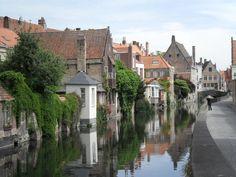 Bruges, Belgica. Linda, linda...