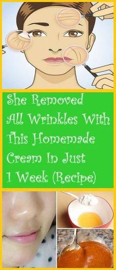 SHE REMOVED ALL WRINKLES WITH THIS HOMEMADE CREAM IN JUST 1 WEEK (RECIPE) - Buy Healthy Tip #BeautyRoutineCalendar Anti Aging Tips, Best Anti Aging, Anti Aging Skin Care, Natural Skin Care, Natural Beauty, Natural Makeup, Homemade Skin Care, Diy Skin Care, Skin Care Tips