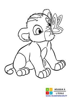 Coloriage Roi Lion GRATUIT | 20 images à colorier 2/4